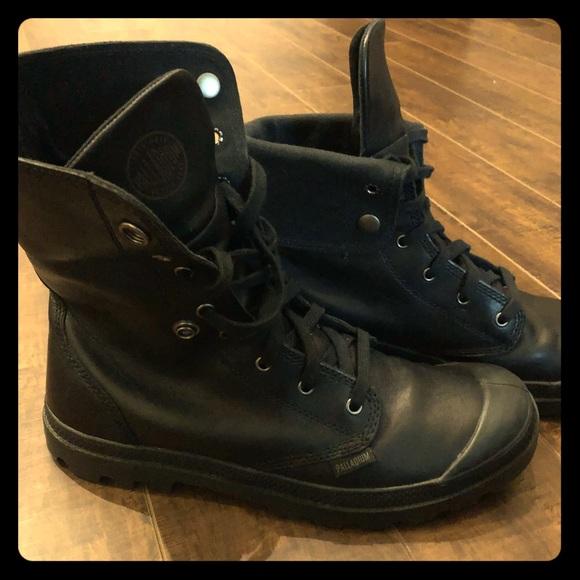 33ca24d328f Palladium Men's Baggy Leather Boots, black